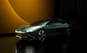 Maven概念车亮相车展,威马智能化探索