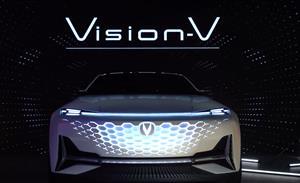 长安亮相概念车Vision V,正式开启品牌焕新