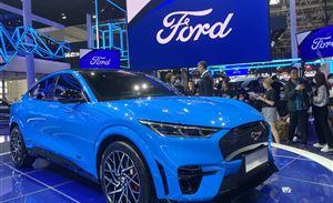 福特品牌焕新,亮相首款先锋纯电SUV