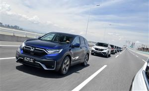 """""""等等党""""的胜利 试驾东风Honda新CR-V"""