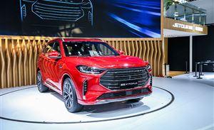 三种座椅布局,7座SUV的新玩法,捷途X70PLUS亮相北京车展
