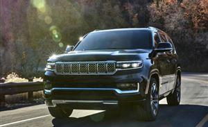 硬派美式大7 Jeep全新大瓦格尼 长5.4米 搭6.4L V8+空气悬架