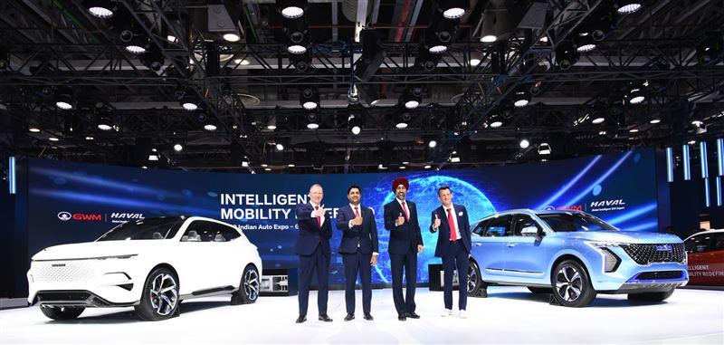 长城汽车亮相2020印度德里车展