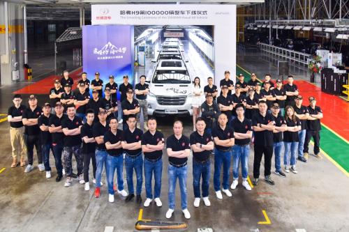 长城汽车1-5月累计销售517,547辆 同比增长65.3%