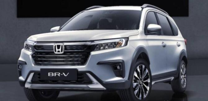 新知达人, 本田7座SUV 新一代BR-V发布 自吸1.5L+121马力