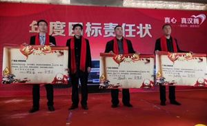 汉腾汽车临沂广德店2019年终总结大会暨2020新年联欢会