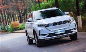 丰富长安欧尚汽车产品谱系,长安欧尚X7 EV当红而来