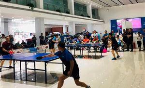 """""""胜亚红木""""杯乒乓比赛—周六周日激情开拍"""